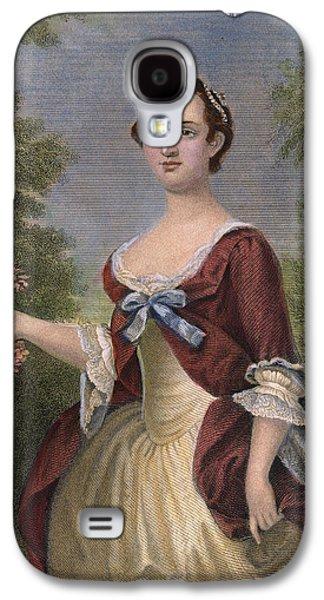 First Lady Galaxy S4 Cases - Martha Washington Galaxy S4 Case by Granger
