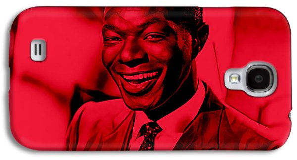 Nat King Cole Collection Galaxy S4 Case by Marvin Blaine