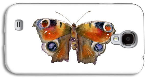 Peacock Galaxy S4 Case - 10 Peacock Butterfly by Amy Kirkpatrick