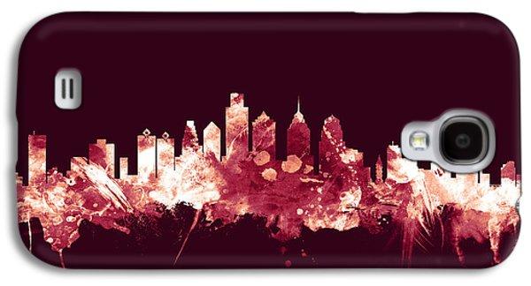 Philadelphia Pennsylvania Skyline Galaxy S4 Case