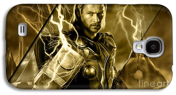 Thor Collection Galaxy S4 Case by Marvin Blaine