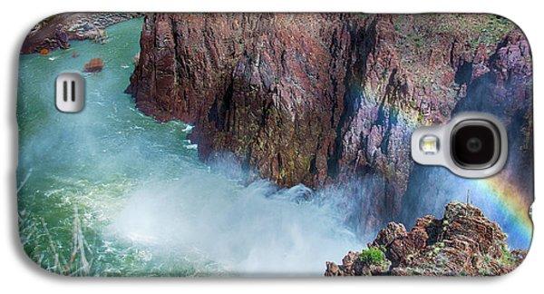 10883 Rainbow Over Owyhee Galaxy S4 Case