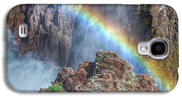 10890 Rainbow Over Owyhee Galaxy S4 Case