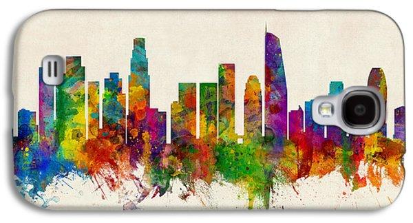 Los Angeles California Skyline Galaxy S4 Case