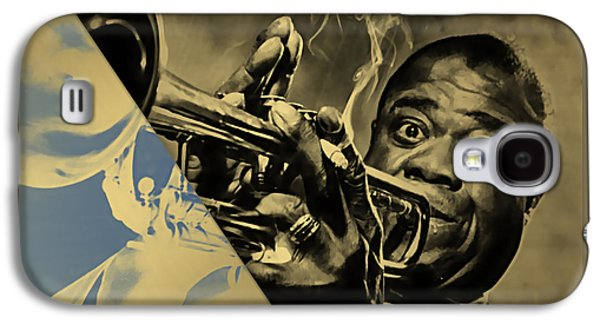 Louis Armstrong Collection Galaxy S4 Case