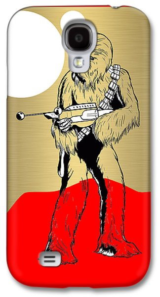Star Wars Chewbacca Collection Galaxy S4 Case by Marvin Blaine