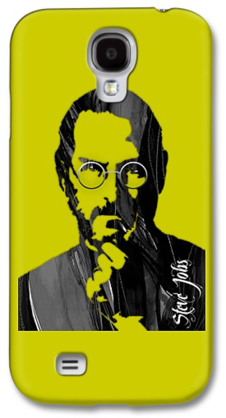 Steve Jobs Collection Galaxy S4 Case by Marvin Blaine