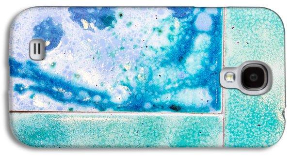 Blue Tiles Galaxy S4 Case