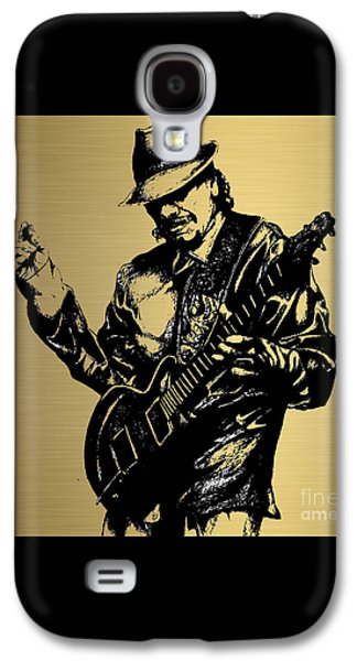 Carlos Santana Collection Galaxy S4 Case by Marvin Blaine