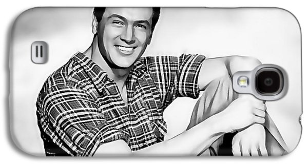 Rock Hudson Collection Galaxy S4 Case by Marvin Blaine