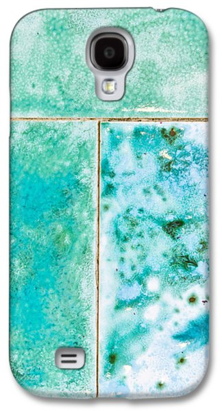 Blue Tiles Galaxy S4 Case