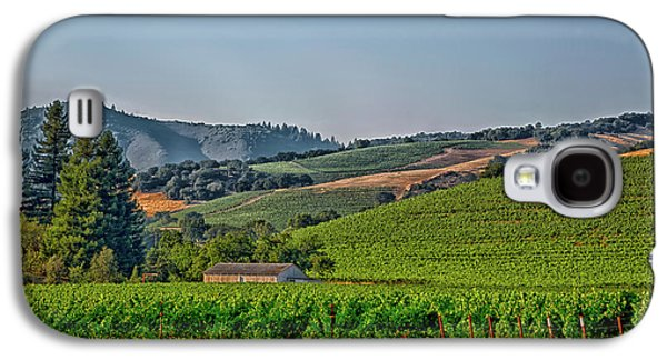 California Vineyard Galaxy S4 Case by Mountain Dreams