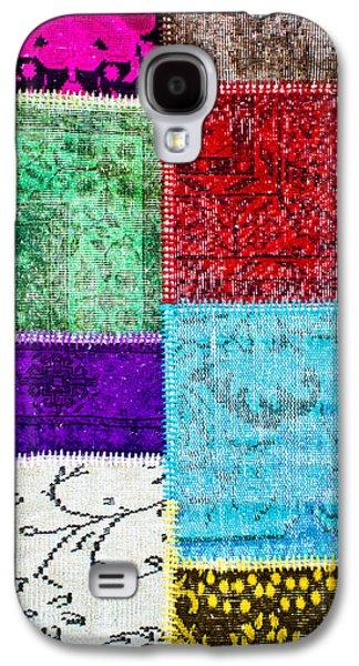 Colorful Textile Galaxy S4 Case