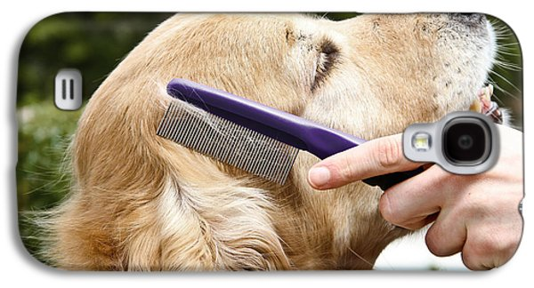 Dog Grooming Galaxy S4 Case by Photo Researchers Inc