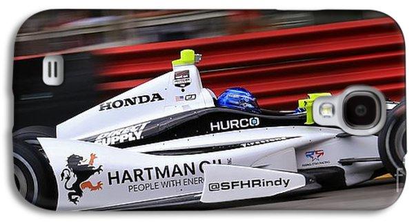 Pro Indycar Racing Galaxy S4 Case by Douglas Sacha