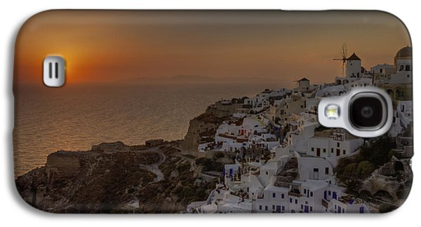 Sun Galaxy S4 Cases - Oia - Santorini Galaxy S4 Case by Joana Kruse