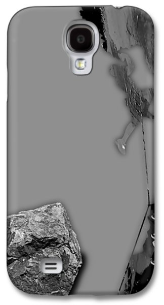 Rock Climber Collection Galaxy S4 Case by Marvin Blaine