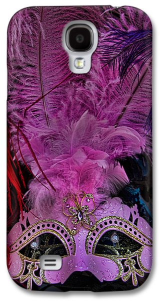 Venetian Carnaval Mask Galaxy S4 Case by David Smith