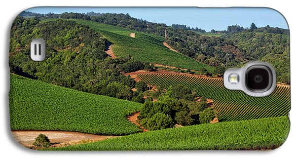 Napa Valley Vineyard Galaxy S4 Case by Mountain Dreams