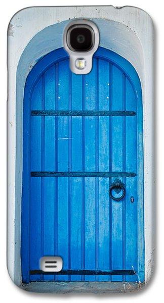 Blue Door Galaxy S4 Case by Tom Gowanlock