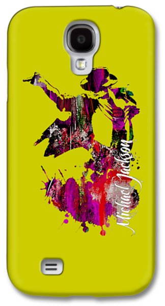 Michael Jackson Collection Galaxy S4 Case