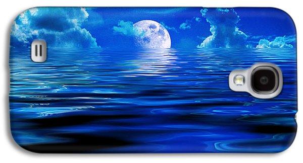 Heavens Waves - Sri Yantra Galaxy S4 Case