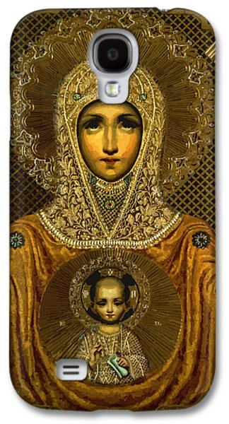 Madonna And Child Galaxy S4 Case by Christian Art