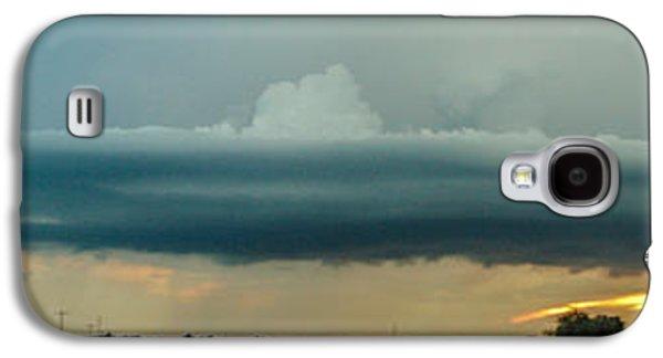 Nebraskasc Galaxy S4 Case - Mid Season Nebraska Supercell by NebraskaSC