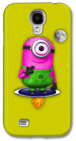 Minions Collection Galaxy S4 Case by Marvin Blaine