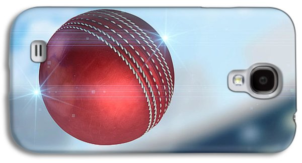 Ball Flying Through The Air Galaxy S4 Case by Allan Swart