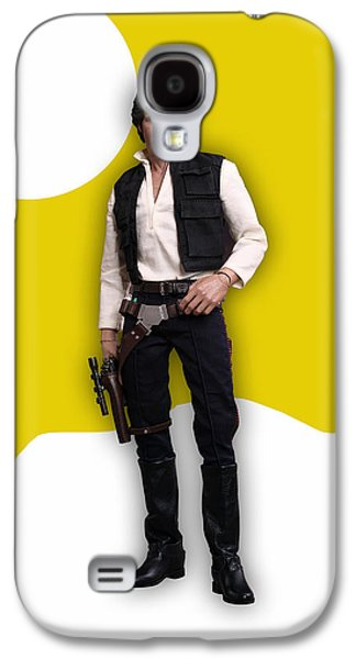 Star Wars Han Solo Collection Galaxy S4 Case by Marvin Blaine