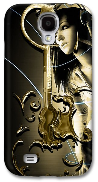 Acoustic Guitar Collection Galaxy S4 Case by Marvin Blaine