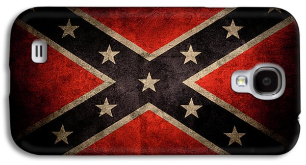 Confederate Flag Galaxy S4 Case by Les Cunliffe
