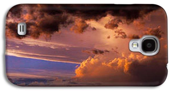Nebraskasc Galaxy S4 Case - Nebraska Hp Supercell Sunset by NebraskaSC