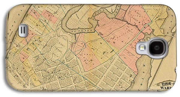 1879 Inwood Map  Galaxy S4 Case
