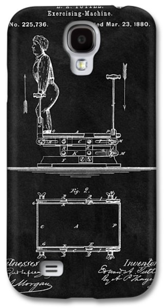 1880 Exercise Apparatus Patent Illustration Galaxy S4 Case