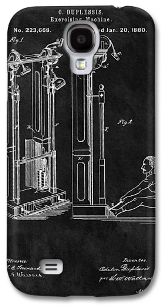 1880 Exercise Machine Patent Galaxy S4 Case