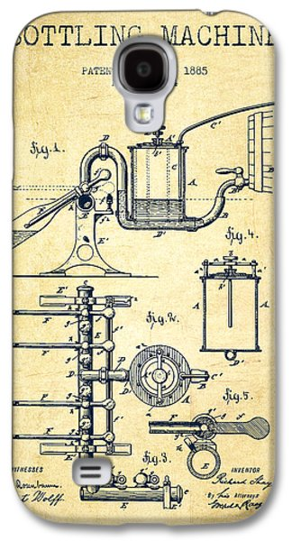 1885 Bottling Machine Patent - Vintage Galaxy S4 Case by Aged Pixel