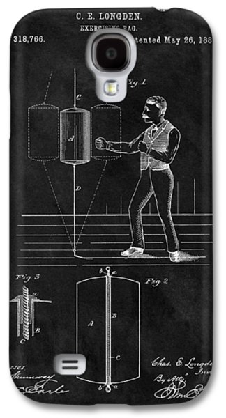 1885 Boxing Bag Patent Galaxy S4 Case by Dan Sproul