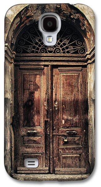 1891 Door Cyprus Galaxy S4 Case by Stelios Kleanthous