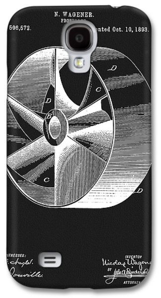 1893 Boat Propeller Patent Galaxy S4 Case