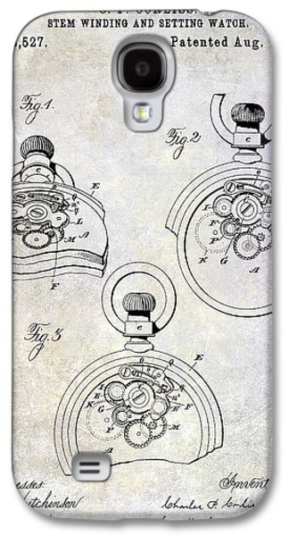 1893 Pocket Watch Patent Galaxy S4 Case