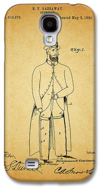 1894 Overcoat Patent Galaxy S4 Case