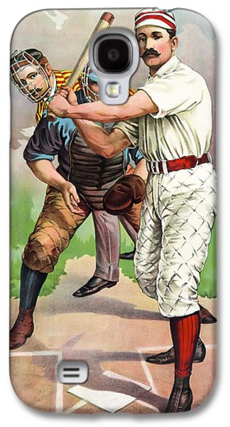 1895 In The Batters Box Galaxy S4 Case