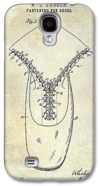 1896 Shoe Patent  Galaxy S4 Case by Jon Neidert