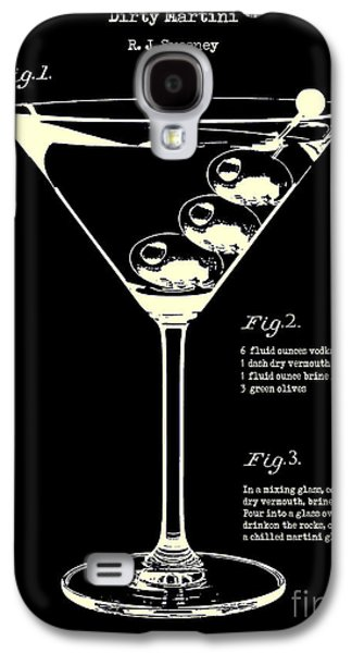 1897 Dirty Martini Patent Galaxy S4 Case