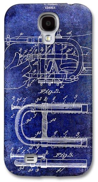 1899 Cornet Patent Blue Galaxy S4 Case