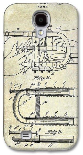 1899 Cornet Patent Galaxy S4 Case