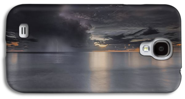 Sunst Over The Ocean Galaxy S4 Case