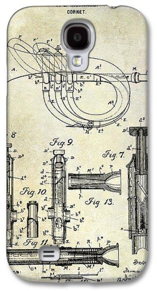 1900 Cornet Patent Galaxy S4 Case